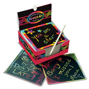 Rainbow Mini Scratch Art Notes (Box of 125)