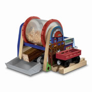 Wooden Railway Wood Chipper