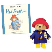 "Paddington Bear Hardback Book & 10"" Plush Set"