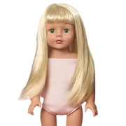 "Favorite Friends 18"" Doll Wig Pack - Platinum Blonde"