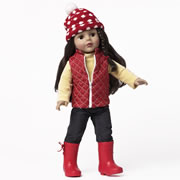 "Favorite Friends Let It Snow! 18"" Doll"