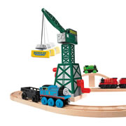 Wooden Railway Cranky the Crane