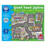 Giant Town Jigsaw Puzzle