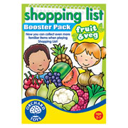 Orchard Toys Shopping List Memory Game Fruit & Vegetables Booster Pack