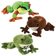 Frogs with their own 'Ribbit' Sound (Set of 3)