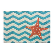 JellyBean® Carpet - Chevron Starfish - Washable