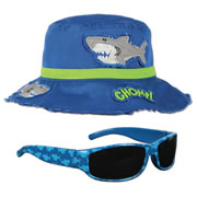 Shark Hat & Sunglasses Set