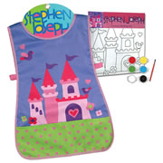 Castle Apron & Canvas Craft Set