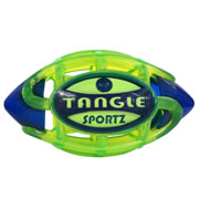 Tangle Sportz Glow-in-the-Dark NightBall Football