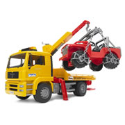 MAN TGA Breakdown Truck & Vehicle Set