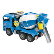MAN TGA Blue Cement Mixer