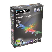 Laser Pegs® Combat Fighter - 6 Models in 1