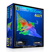 Laser Pegs® 6-Models-in-1 Set - National Geographic Oceans