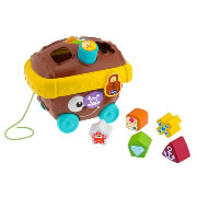 Chicco Pull-Along Pirates Treasure Chest Shape Sorter