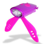 Mini Hornit Bicycle Light - Pink/Purple
