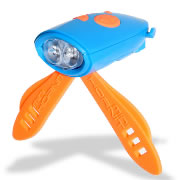 Mini Hornit Bicycle Light - Blue/Orange