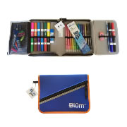 Blum School Gear Case - Blue/Orange (Grades K-1)