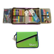 Blum School Gear Case - Green/Blue (Grades 2-4)
