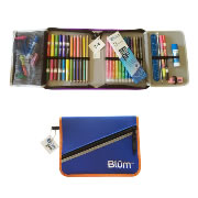 Blum School Gear Case - Blue/Orange (Grades 2-4)