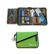 Blum School Gear Case - Green/Blue (Grades 5-8)