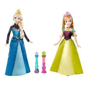 Frozen Color Changing Doll Set - Anna & Elsa