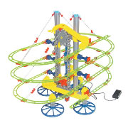 Quercetti Skyrail Roller Coaster Motorized Mini with Elevator
