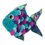 Plush Craft Fancy Fish Create-Your-Own Craft Pillow