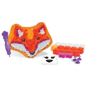 PlushCraft Foxy Fox Create-Your-Own Craft Pillow