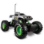 Maisto Tech Off-Road Series Rock Crawler Remote Cotrol Car - Grey/Black