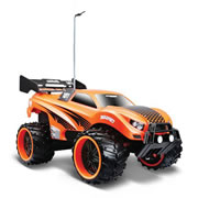 Maisto Tech Off Road Series Remote Control Car  (1:16) 27MHZ Dune Blaster - Orange/Black