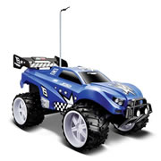 Maisto Tech Off Road Series Remote Control Car  (1:16) 27MHZ Dune Blaster - Blue/Black