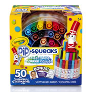 Crayola® Telescoping Pip Squeaks Tower