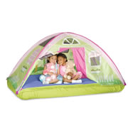 Cottage Bed Pretend Play Tent
