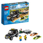 LEGO® City Great Vehicles SUV with Watercraft (60058)