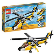 LEGO® Creator 3-in-1 Yellow Racer (31023)