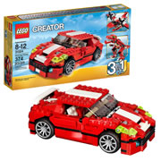 LEGO® Creator 3-in-1 Roaring Power Red Vehicle (31024)