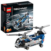 LEGO® Technic 2-Models-in-1 Twin-rotor Helicopter (42020)
