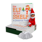 Elf on the Shelf® - Girl (Dark) & Sparkle Tutu/Skirt