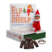 Elf on the Shelf® - Boy (Dark) & Aviator Jacket
