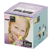 Plus-Plus Construction Set - Pastel (600 pieces)