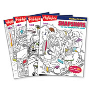 Highlights™ 2015 Hidden Pictures Puzzle Books - Set of 4