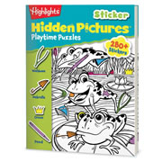 Highlights™ Sticker Hidden Pictures Playtime Puzzles