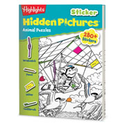 Highlights™ Sticker Hidden Pictures Animal Puzzles