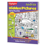 Highlights™ Favorite Hidden Pictures Puzzle Book - Farm Puzzles