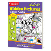 Highlights™ Favorite Hidden Pictures Puzzle Book - Outdoor Puzzles