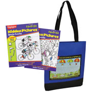 Highlights™ Discovery & Sports Favorite Hidden Pictures Set & Free Tote