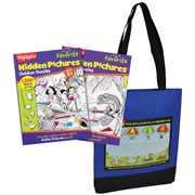 Highlights™ Wildlife & Outdoor Favorite Hidden Pictures Set with Free Tote