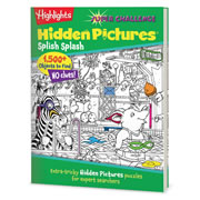 Highlights™ Super Challenge Hidden Pictures Puzzle Book - Splish Splash