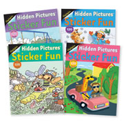 Highlights™ Hidden Pictures Sticker Fun Books - Set of 4