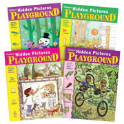 Highlights™ Hidden Pictures Playground Puzzle Books - Set of 4